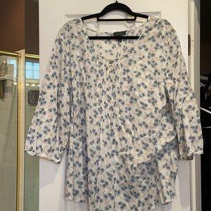 3x Ralph Lauren 3/4 sleeve cotton tunic.